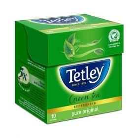 Tetley Green Tea - Regular, 10 Teabags