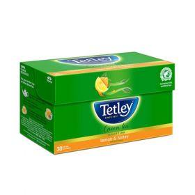 Tetley Green Tea, Lemon and Honey, 30 Tea Bags