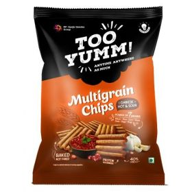 Too Yumm! Multigrain Chips - Chinese Hot & Sour, 28 gm (Pack of 108)