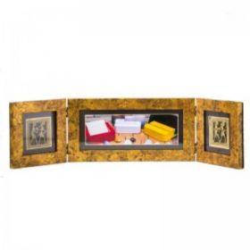 Two Folds Antique Photo Frame