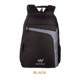 Wildcraft Spade Laptop Backpack -Black
