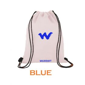 Wildcraft String Bag - Blue