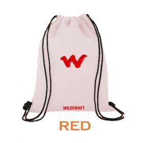 Wildcraft String Bag - Red