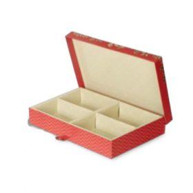 Peach Rectangular 600 - 1000 Gms Box (4 Parts)