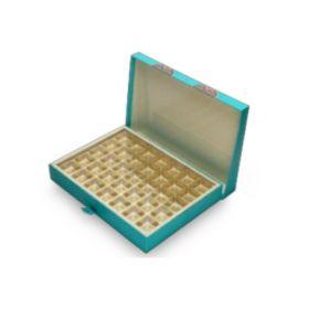 Turquoise Rectangular 900 - 1500 Gms Box (35 Parts)