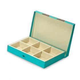 Turquoise Rectangular 900 - 1500 Gms Box (6 Parts)