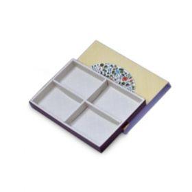 Beige Economy Sleeve Rectangular 750 Gms Box (4 Parts)