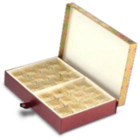 Antique Gold Rectangular 600 - 1000 Gms Box (24 Parts)