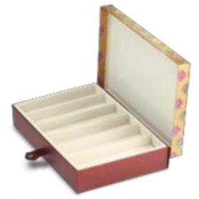 Antique Gold Rectangular 600 - 1000 Gms Box (6 Lines)