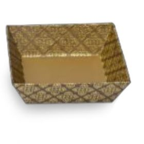 Tatva Gift Packing Bronze Gold Small Square Tray