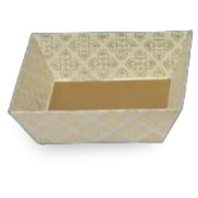 Tatva Gift Packing  White Small Square Tray