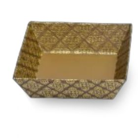 Tatva Gift Packing Bronze Gold Medium Square Tray