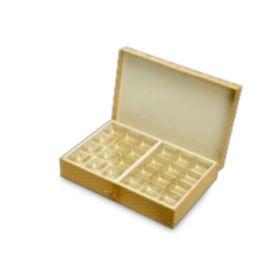 Gold Rectangular 600 - 1000 Gms Box (24 Parts)