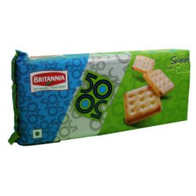 Britannia 50-50 Sweet And Salt Biscuit - 50 Gms(Pack Of 6)