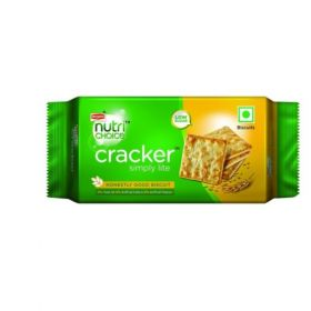 Britannia  Nutrichoice Cracker Biscuit- 100 Gms(Pack Of 6) - 5Packs