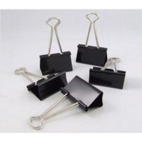 Deli Binder Clip 15Mm (Black) Box