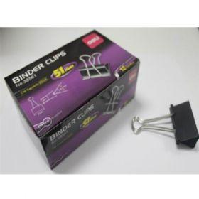 Deli Binder Clip 51Mm (Black) Box