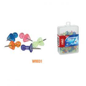 Deli Color Push Pin(Assorted)W0031