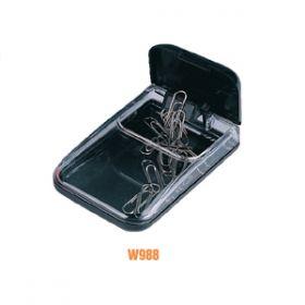 Deli Magnetic Paper Clip Box (Assorted)