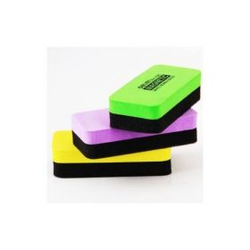 Deli Magnetic Whiteboard Eraser(Assorted) - 1 Pc