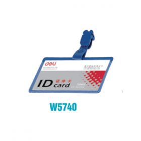 Deli Name Badge(Blue)W5740