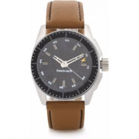 Fastrack Ng3089Sl05 Black Magic Analog Watch - For Men