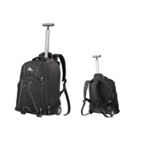 High Sierra Freewhl Laptop Trolley Backpack Black