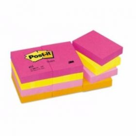 "3M Post It Yellow Notes-1.5 X 2"", 100 Sheets/Pack - 10 Packs"