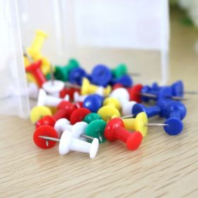 Colored Push Pins 35 Pins/Pack - 30 Packs