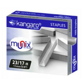 Kangaro Stapler Pin 23/17-H Pack Of 5- 20 Packs(100 Pcs)