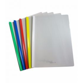 Solo Report Cover (Strip File - Wide & Thick) Pack Of 10- 10 Packs(100 Pcs)