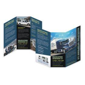 A4 6 Panel Brochures(10 Brochures)