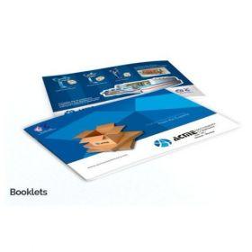A4 Booklets (Landscape 12 Sides)(25 Booklets)