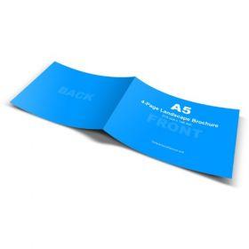 A5 Brochures (Landscape 4 Pager)(10 Brochures)