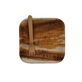 Areca Leaf Disposable Fork - Pack of 100