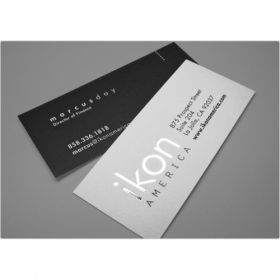 Back To Back Slim Business Card 3(100 Cards)