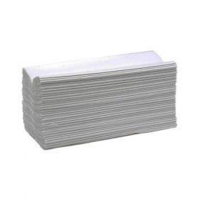 C-Fold Towel, 21 X 32 Cms, White - 20 Pack/Case
