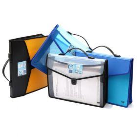 Flexi Document Bag - With Xtra pocket + Lock & Handle (DC555)