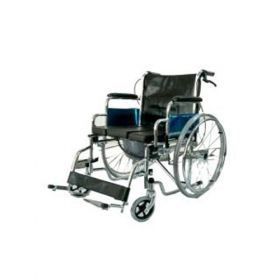 Deluxe Wheelchair With Commode