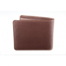 Elan Classic Lth Bifold Card Wallet-Brown