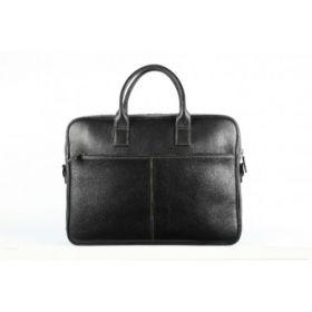 Elan Leather Executive Bag-Black