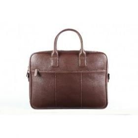 Elan Leather Executive Bag-Brown
