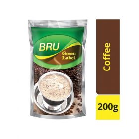 BRU Coffee - Green Label (Roast & Ground) - 200Grms