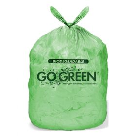 Compostable Corn Starch Garbage Bags - Green