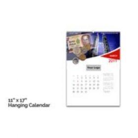 "Hanging Calendar 11"" X 17""(50 Pcs)"
