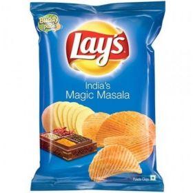 Lays Potato Chips - Indias Magic Masala, 35 gm (Pack of 120)