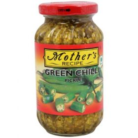 Mothers Recipe Green Chilli Pickle, 300g