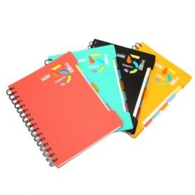 5-Subjects Notebook, Pack of 4 pcs (NA554)