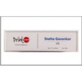 Name Badges 7021 Clear (75Mm X 20Mm)