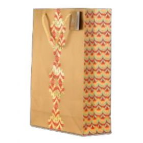 Designer Antique Gold Paper Bag ( Pb 1705 )